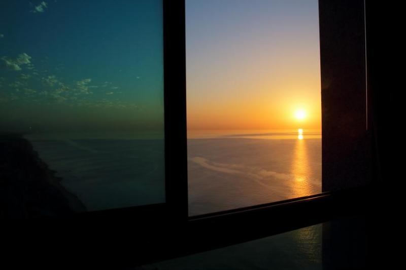 The views from the windows of the bedrooms!