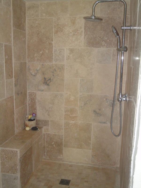 Bedroom 2 walk in shower