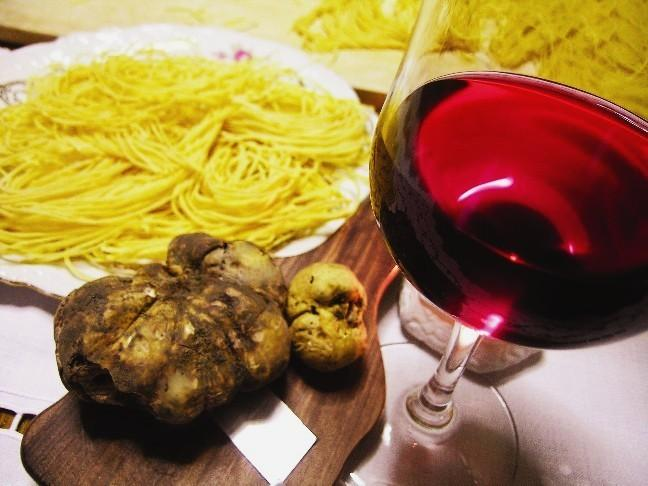 Typical dishes from the Langhe