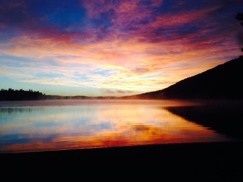 Cultus Lake Sunrise