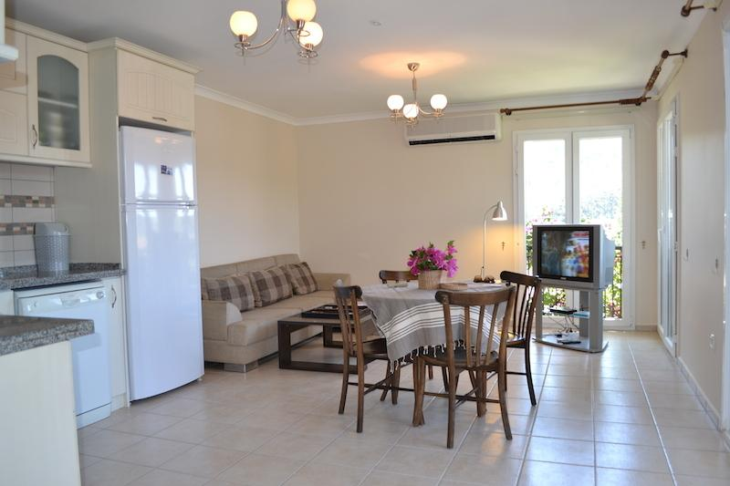 Holiday Apartment Terrace Life - PALM 32, vacation rental in Gocek