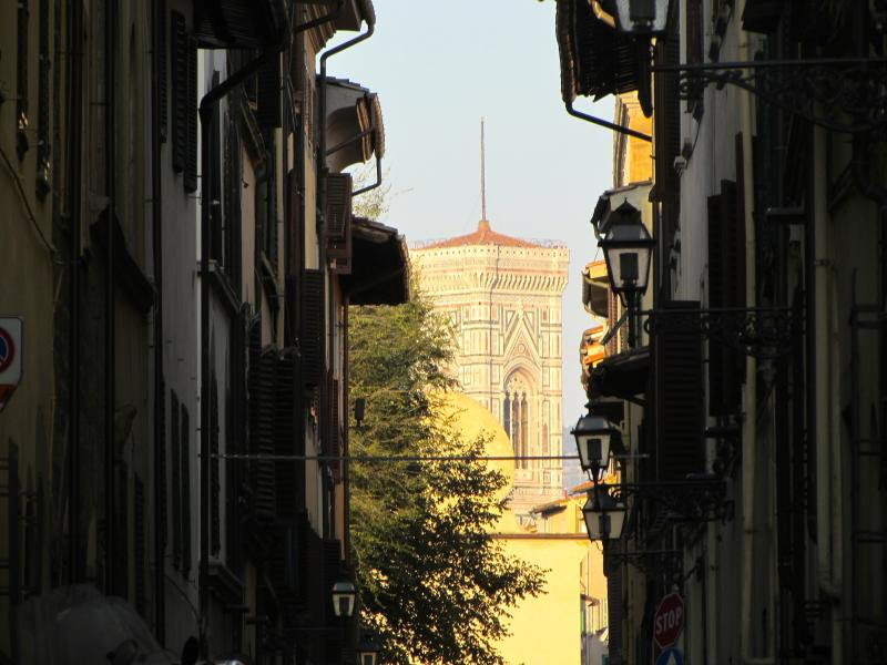 Piazza Santo Spirito and behind Giotto's Bell