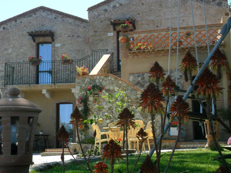 Villa quiet is situated in the hills just 8-minute drive from the beach and has sea and mountain view.