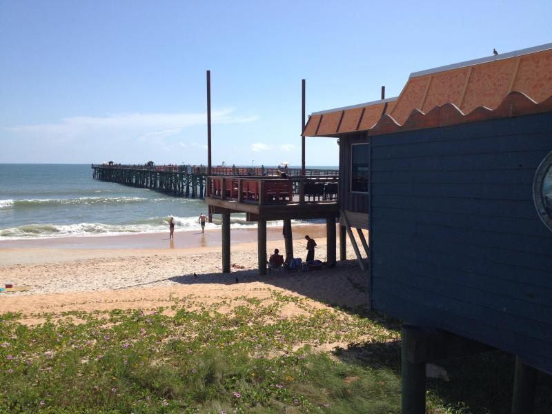 The Flagler Beach Pier at the heart of Flagler Beach
