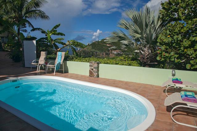 Guest House heeft een eigen zwembad en hot tub