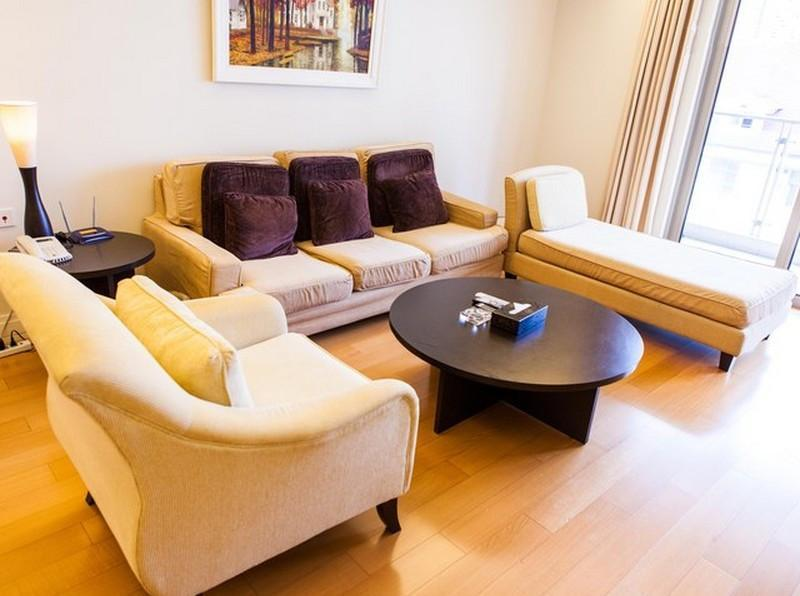 After a long day around Sheung Wan, Hollywood Road - you deserve to sit around in this living room!