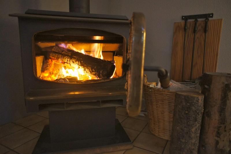 Make yourself a warm fire in the wood stove