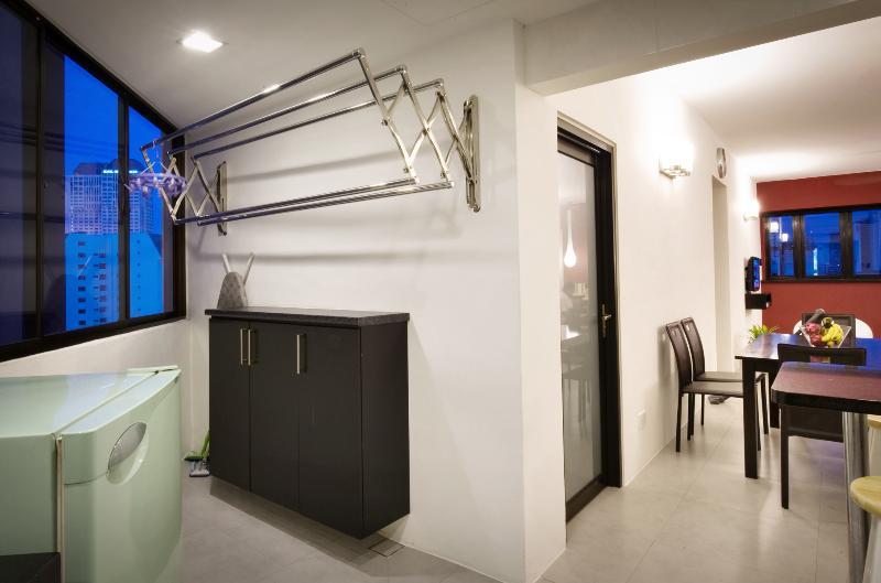 Lavatrice e asciugatrice a parete