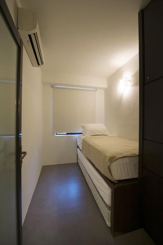Terza camera con letto singolo e un letto singolo secondo (estraibile)