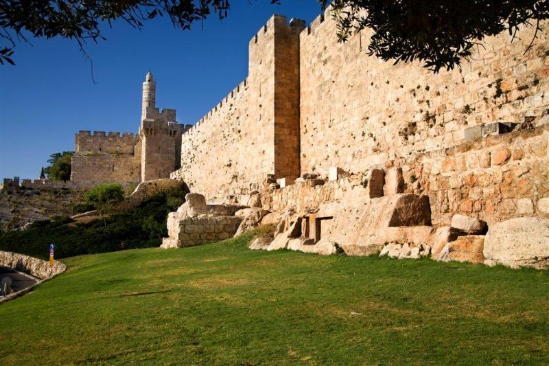 Old city - Tower of David at 10 minutes walk from the apartment