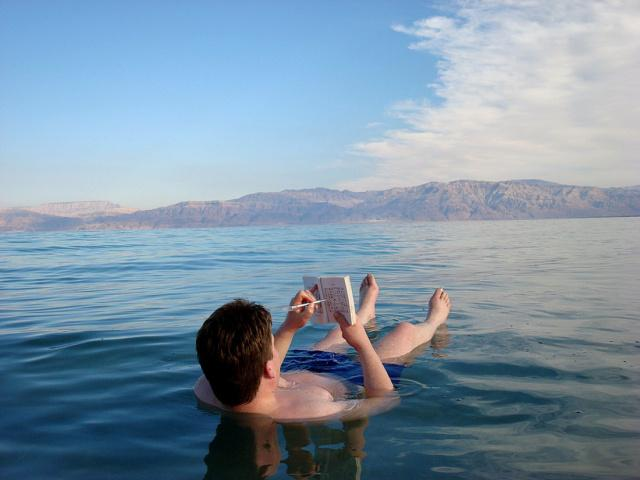 The dead sea at 1 hour by car from Jerusalem