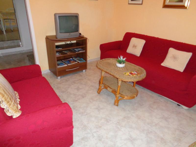 Le Salon détente TV à l' entrée de la maison