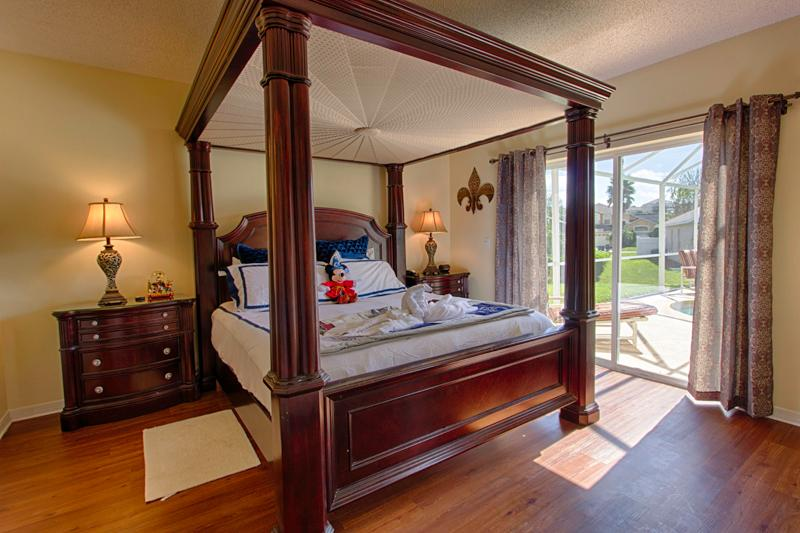 Magical Clubhouse Master Bedroom