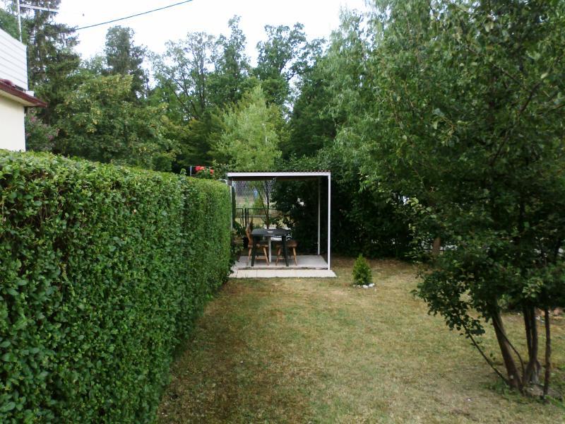 ... or in the gazebo in the garden ...