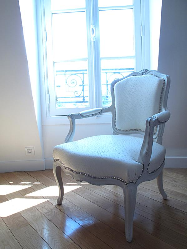 'modernized' Louis XV armchair