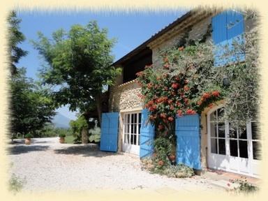 Chambre d'hôtes (b&b) en Haute Provence Lou Jas, holiday rental in Sigoyer