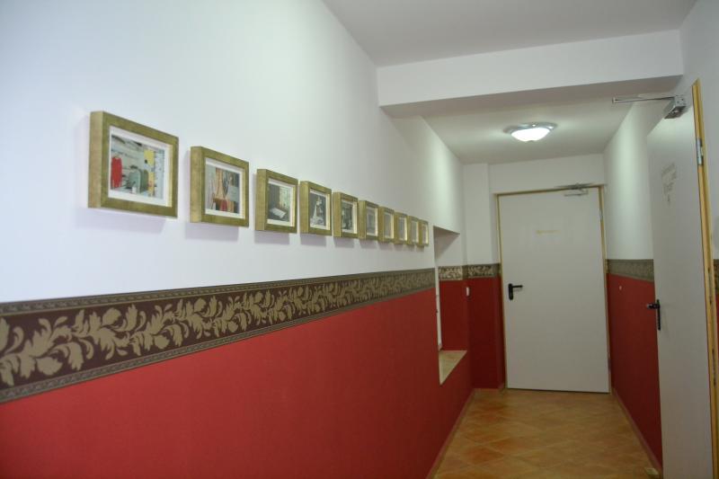 Hallway to the restaurant