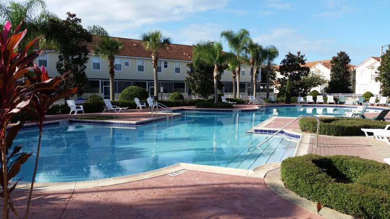 Stunning heated free form pool. Probably the nicest in all Kissimmee.