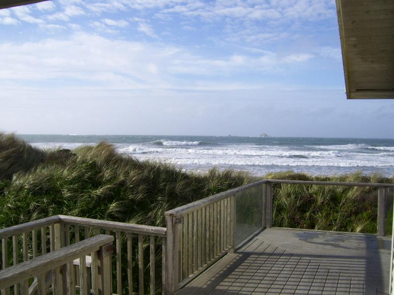 VIEW WEST FROM MASTER BEDROOM TO OCEAN