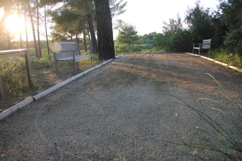 Terrain de Petanque d'Agarrus - Bowling green