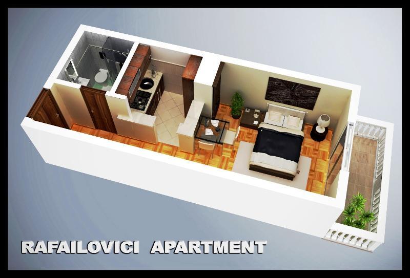Sunset Studio Rafailovici, alquiler de vacaciones en Municipio de Budva