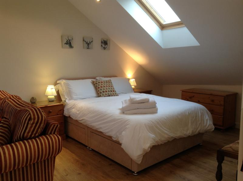 Dark skies over the Forest allow beautiful views of a star studded sky from your bed!!