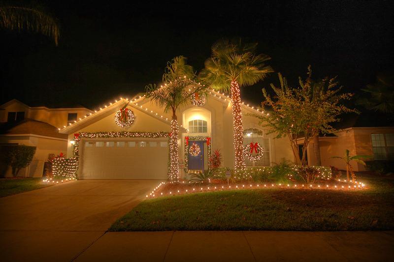Christmas Lights At Lake Berkley