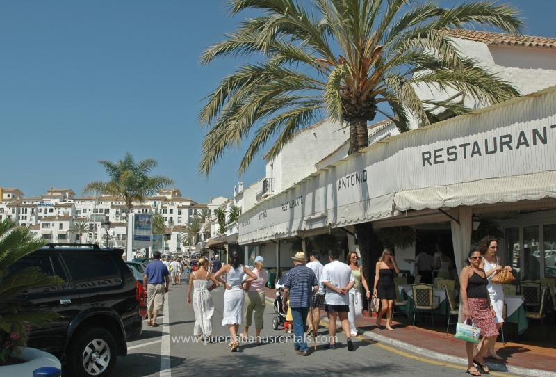 Meander through Marina Puerto Banus restaurants, shops and spot the celebrities!