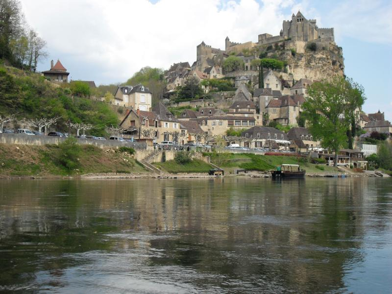 From the river at Beynac