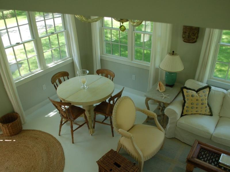 dining area from second floor