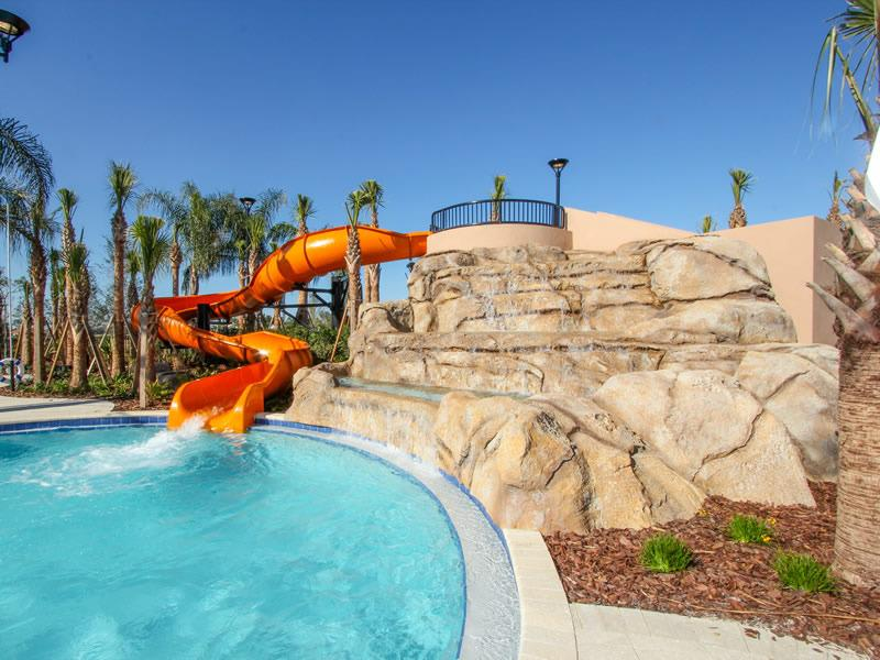 Club House Pool & Slide