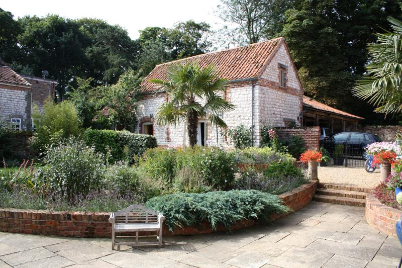 Little Barn and our glorious garden