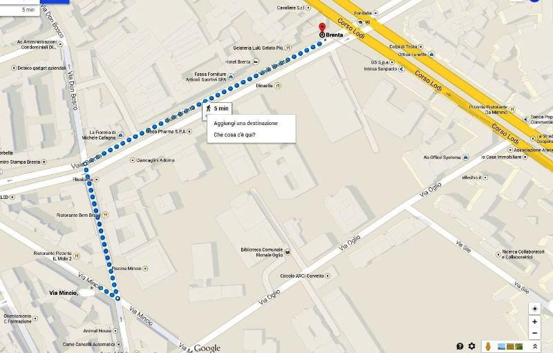 Dalla metropolitana Brenta stazione all'appartamento è solo a 5 minuti a piedi