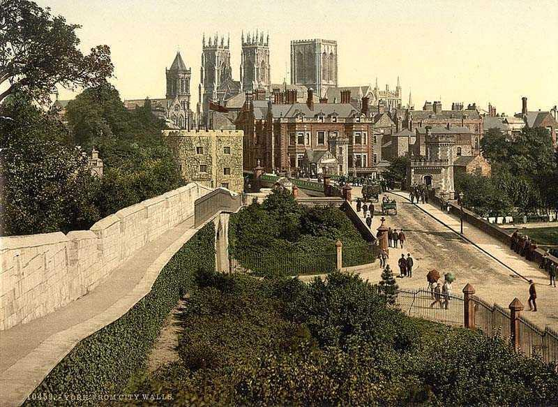 Old York around the walls