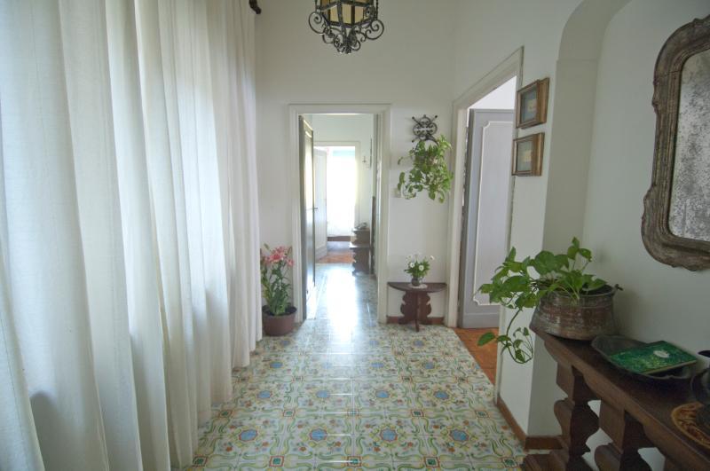 The elegant entry hall