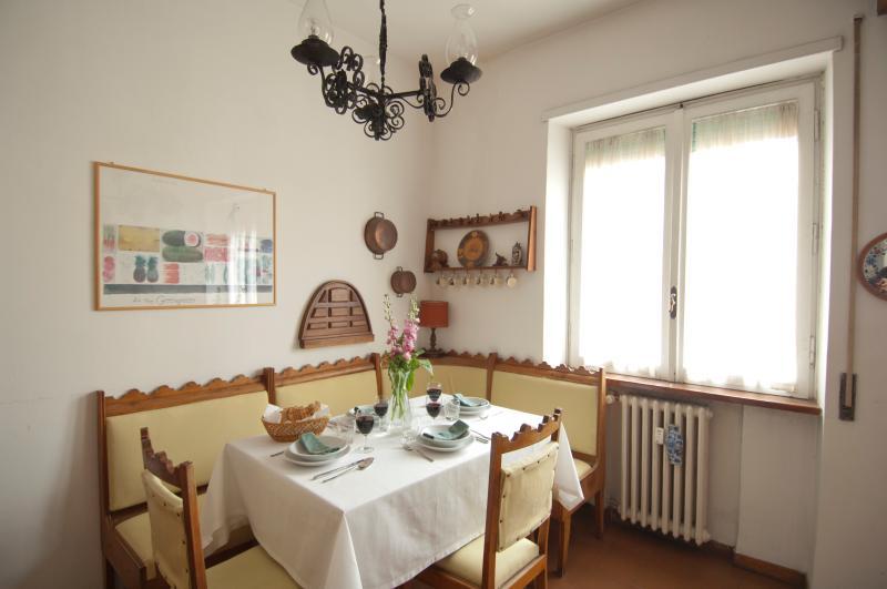 Our kitchen nook