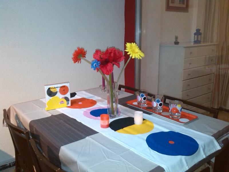 La mesa está puesta!