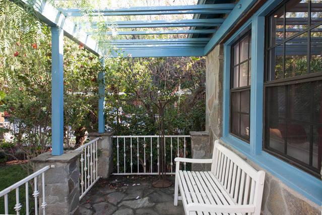 voorste patio