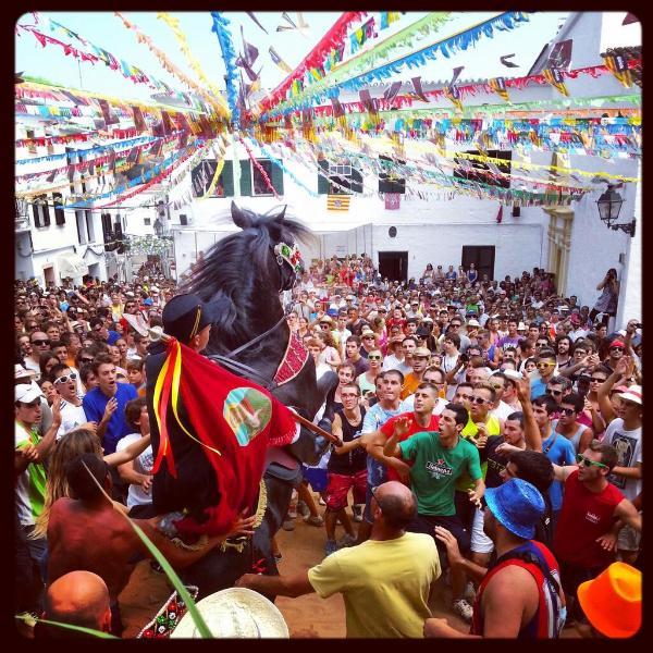 Fiestas de Sant Bartomeu en Ferreries