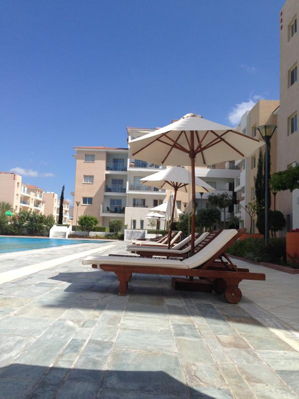 Catch some rays on the sun loungers..... Bliss !