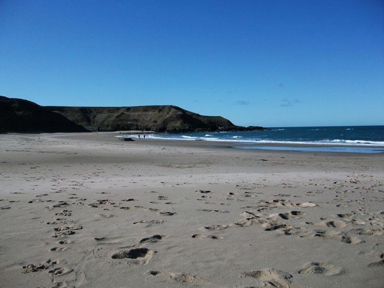 Una de muchas hermosas playas del litoral de la península de Llyn