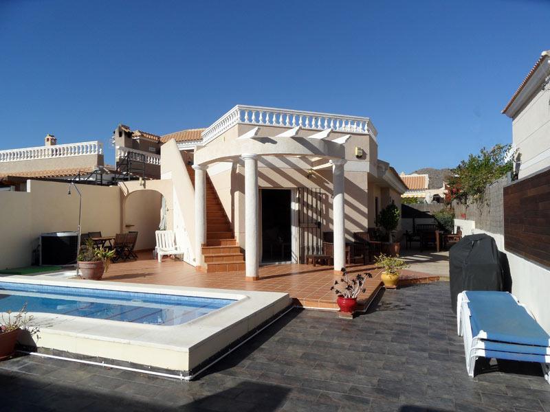 Villa I.D  3 Bed room villa with private pool, WIFI, Airco. UK TV etc, holiday rental in San Juan de los Terreros