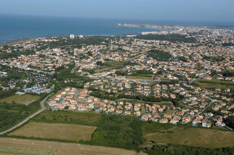 Luftaufnahme der Domain
