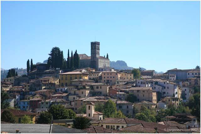 Hill top town of Barga