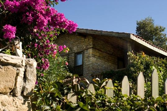Cottage with Bougainvilliers