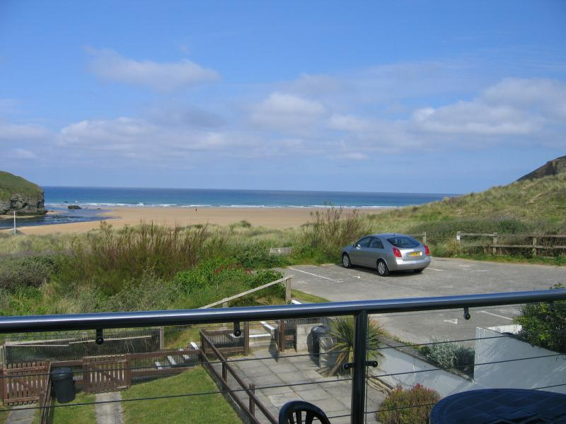 Chi An Mor- With fabulous views of Mawgan Porth, location de vacances à St. Mawgan