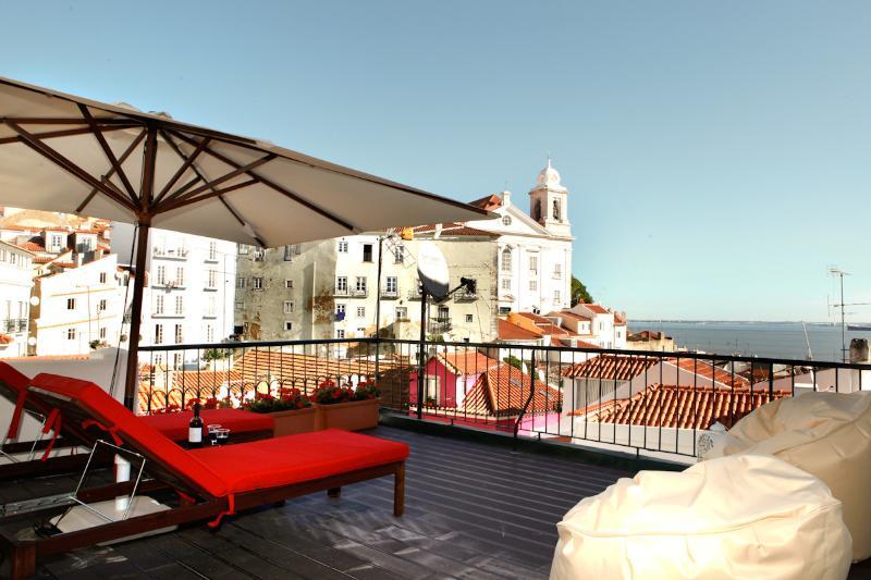 El mejor apartamento Alfama terraza, vista al río,