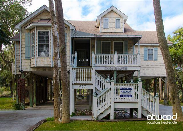 Big Honey Do - Adorable Beach Walk Home, vacation rental in Edisto Island