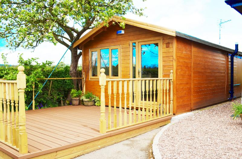 Apple Tree Chalet, casa vacanza a Uttoxeter