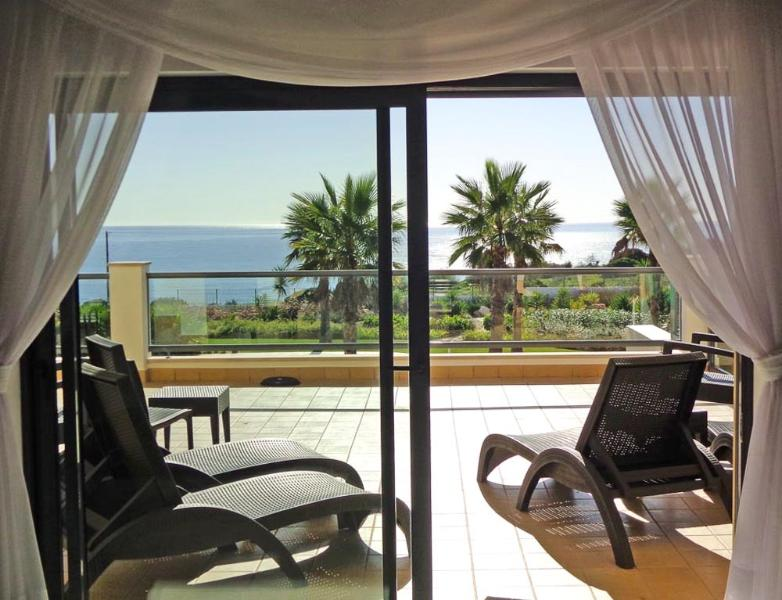 Amazing views out to sea from the lounge and large terrace